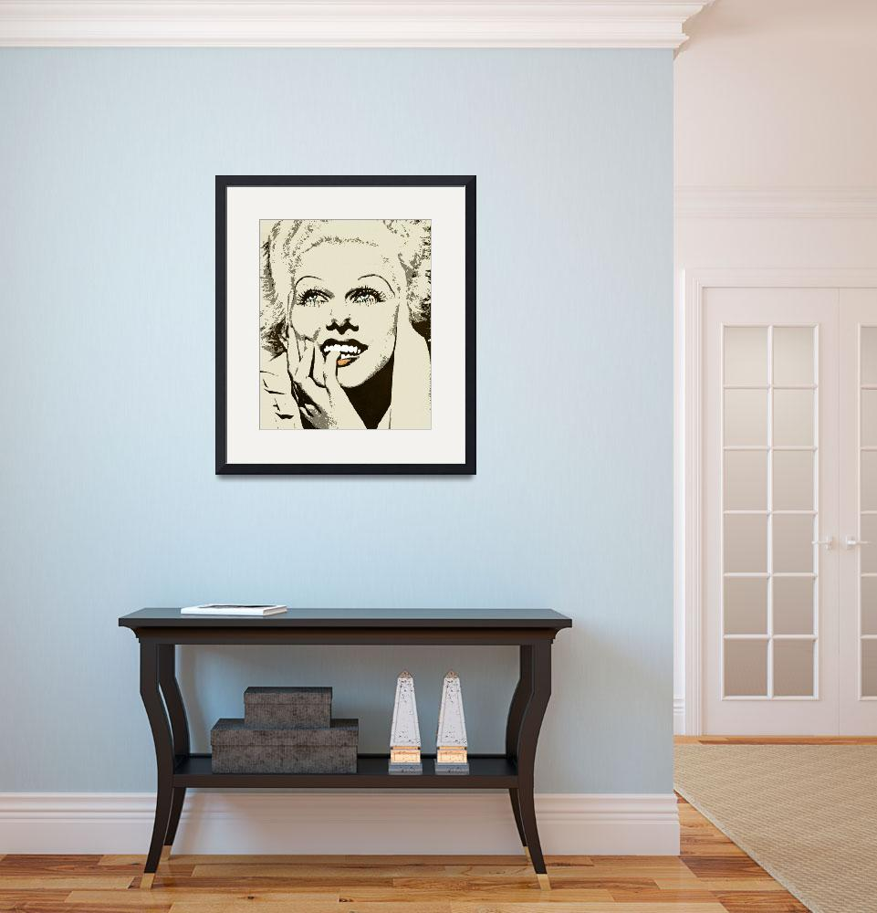 """""""JEAN HARLOW""""  by thegriffinpassant"""