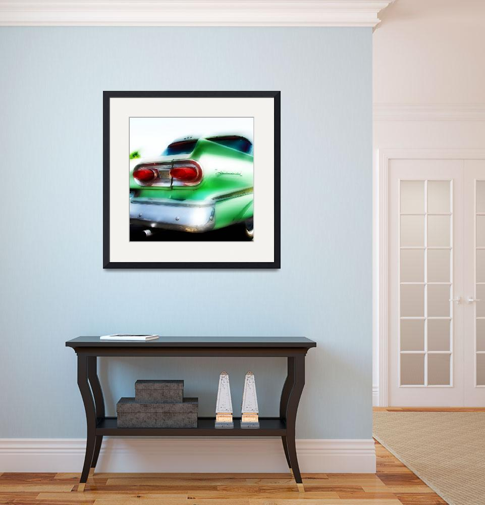 """""""ford fairlane route 66&quot  (2006) by studiobrian"""