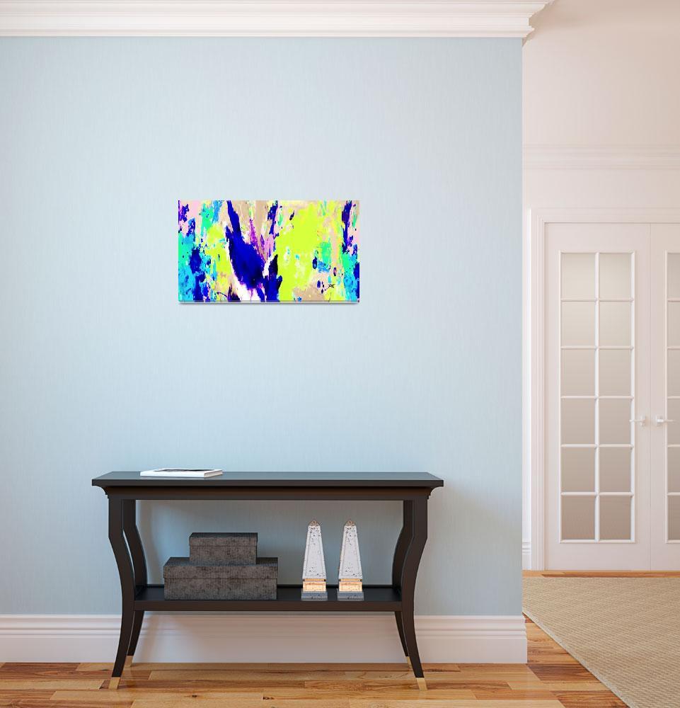 """Color Splash Art 39""  (2016) by positivebusinessdesigns"