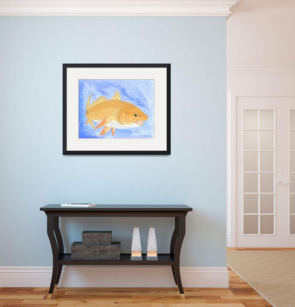 """""""Redfish Looking at You&quot  (2008) by FGerety"""