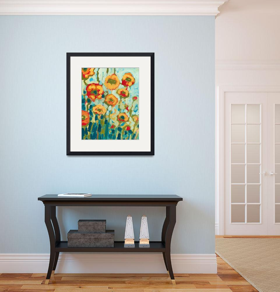 """""""California Poppies&quot  (2009) by JENLO"""