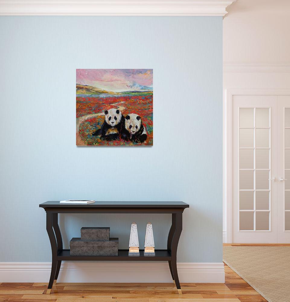 """Panda Paradise&quot  by creese"