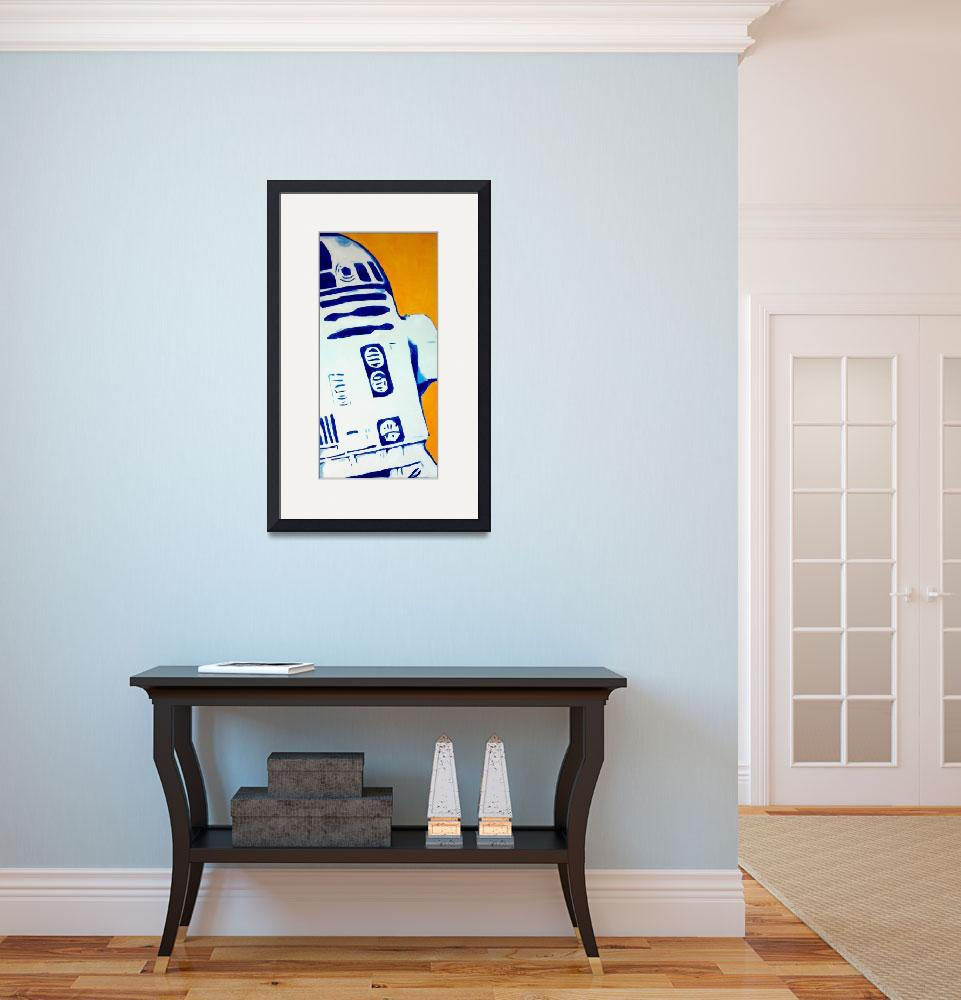 """""""Star Wars Pop: R2D2 by Red""""  (2011) by adrenalinecustoms"""