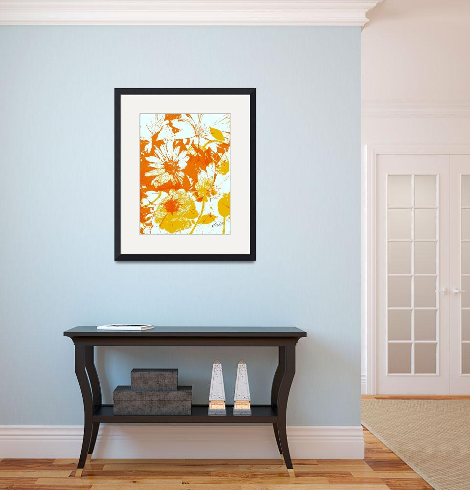 """""""Citrus Poster Floral""""  (2017) by RuthPalmer"""