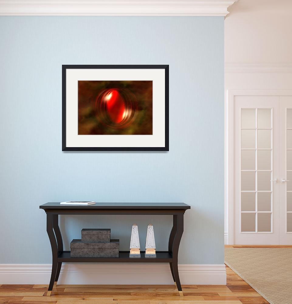 """""""Red Planet&quot  (2013) by ArtPrints"""