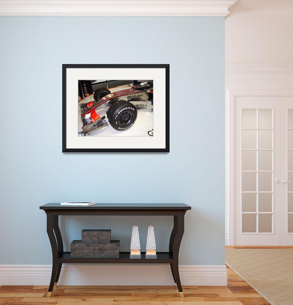 """""""Formula 1 car&quot  (2008) by peter-a-photography"""