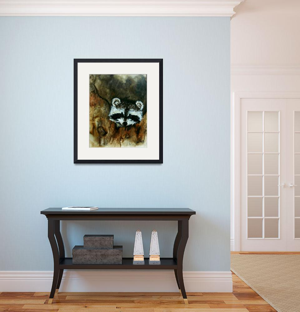 """""""Watercolor Painting Print-Childrens Room&quot  (2008) by DonnaMariesArt"""
