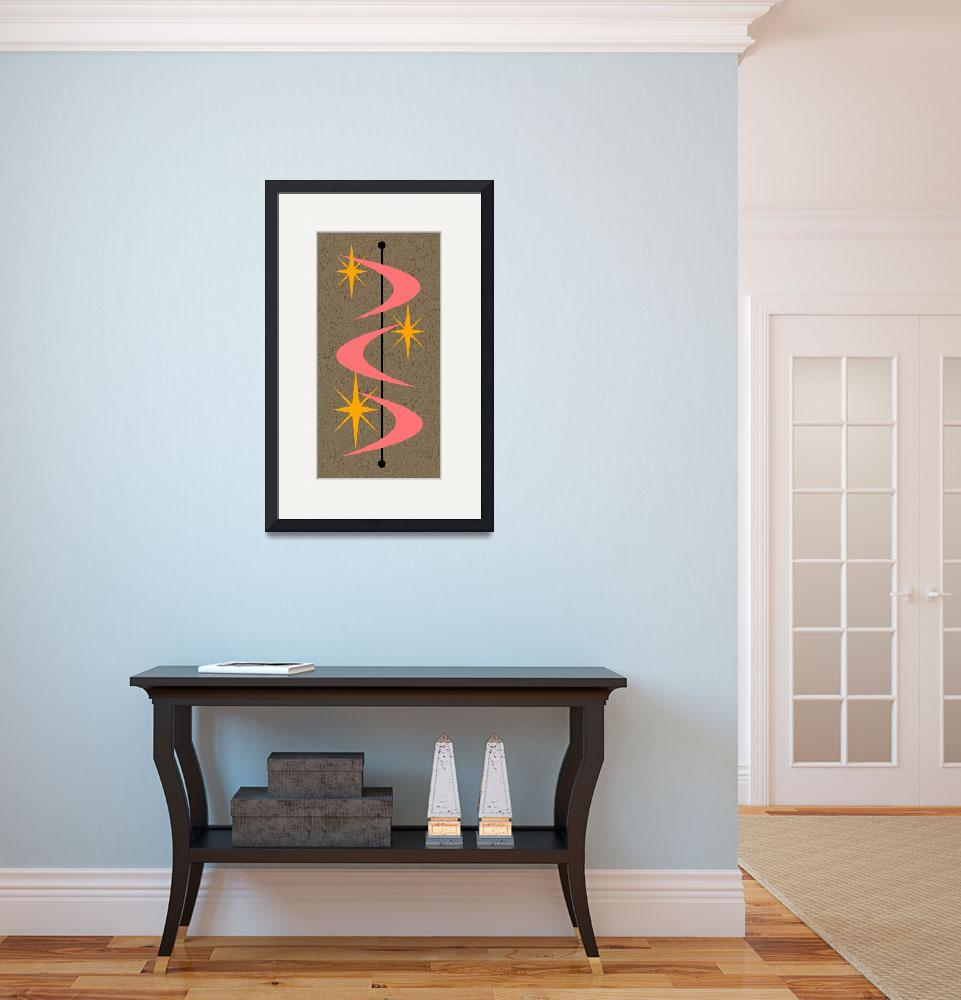 """""""Mid Century Modern Shapes 5""""  by DMibus"""