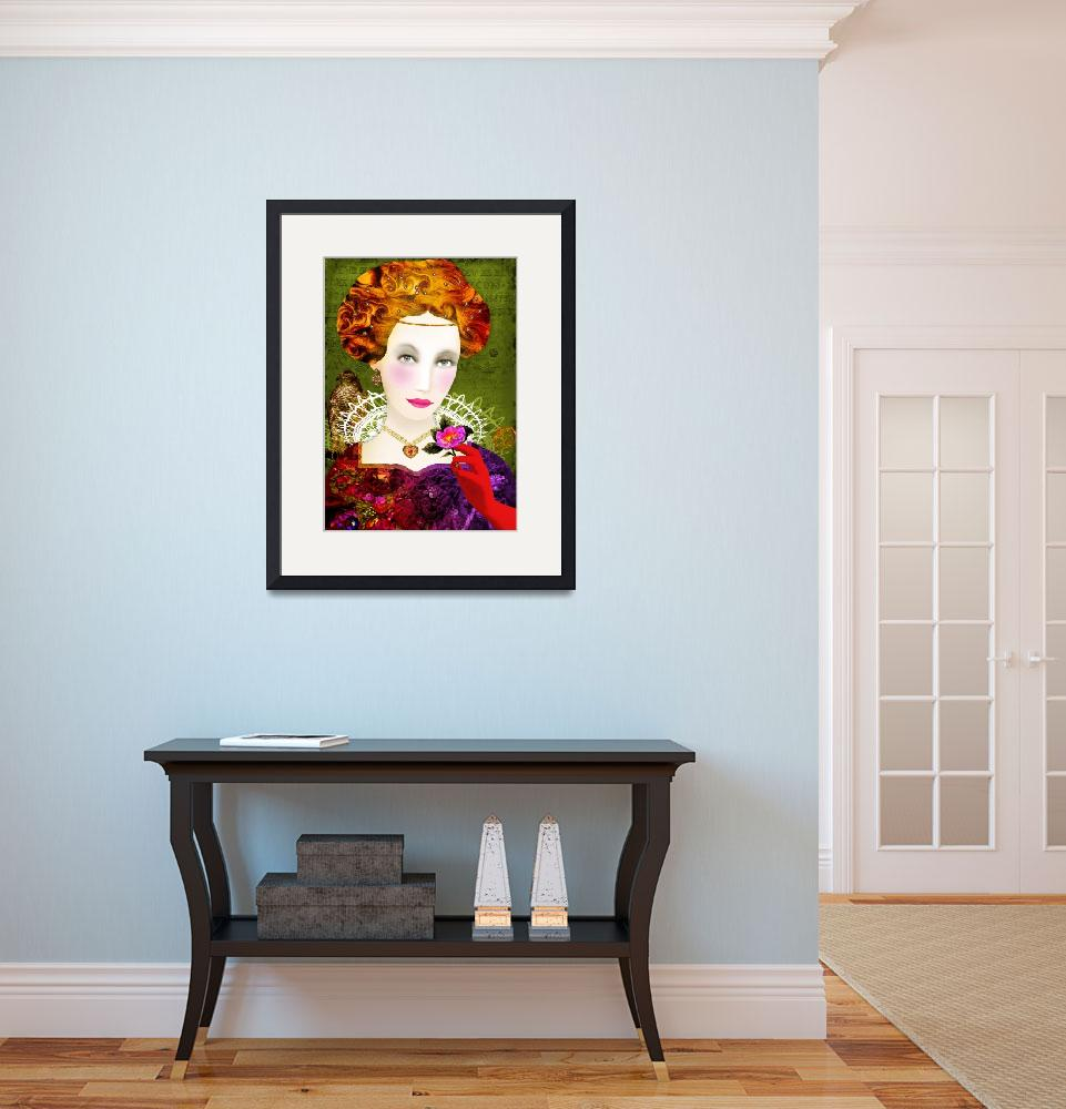 """""""Queen of hearts&quot  (2009) by sylvestra"""
