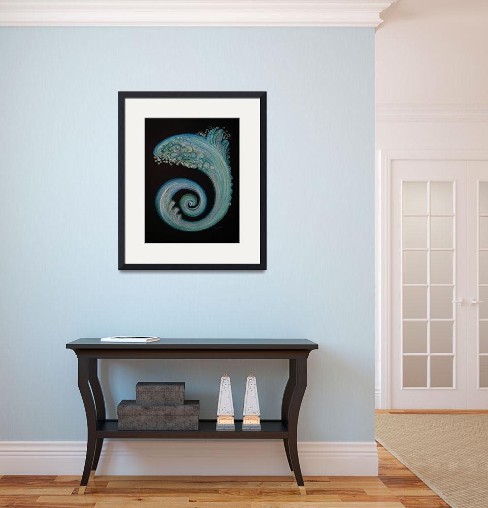"""""""Refreshing Wave is Coming""""  (2009) by shana"""