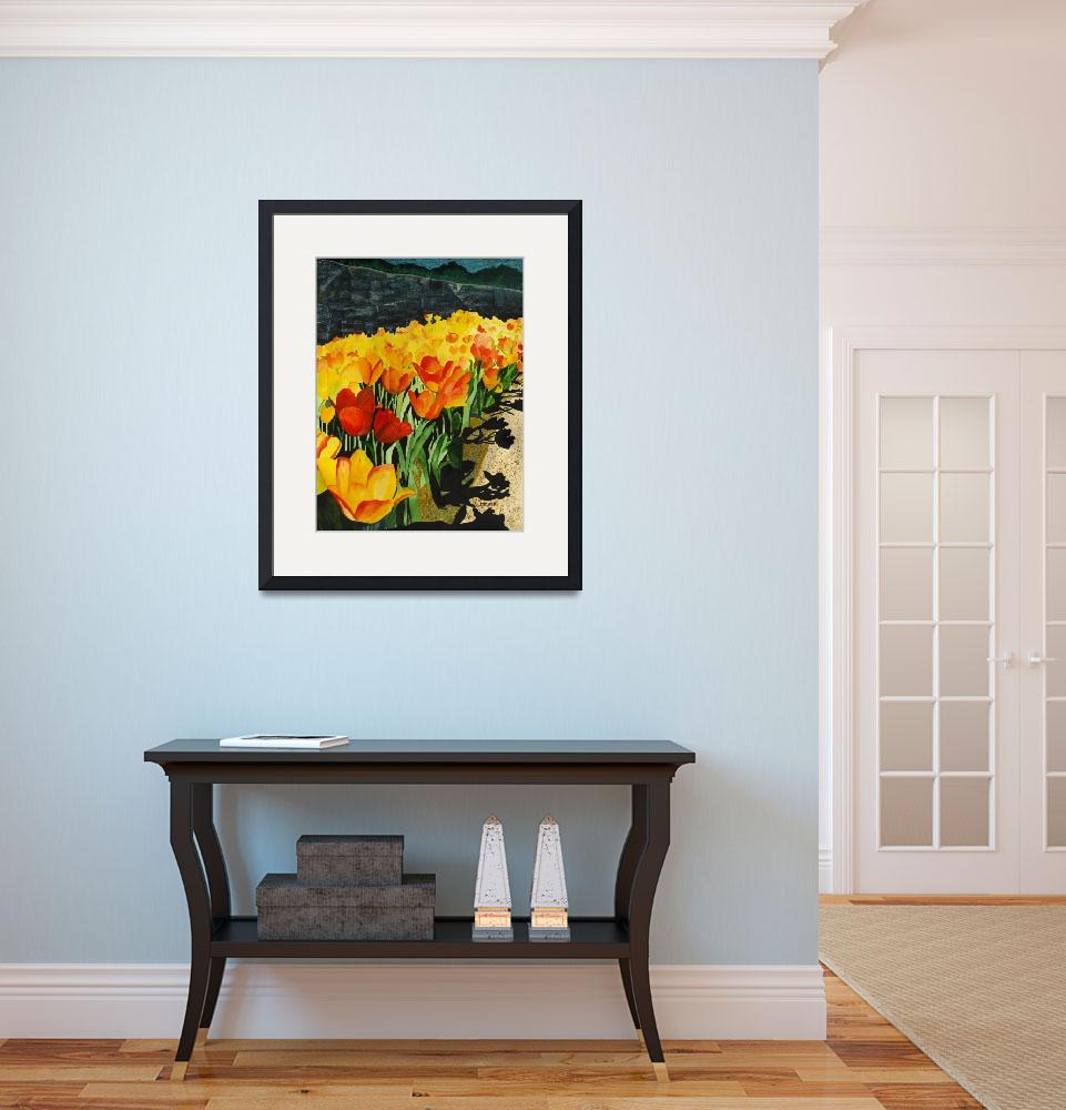 """""""Floral Art Print by Sue Coomer&quot  by artprint"""