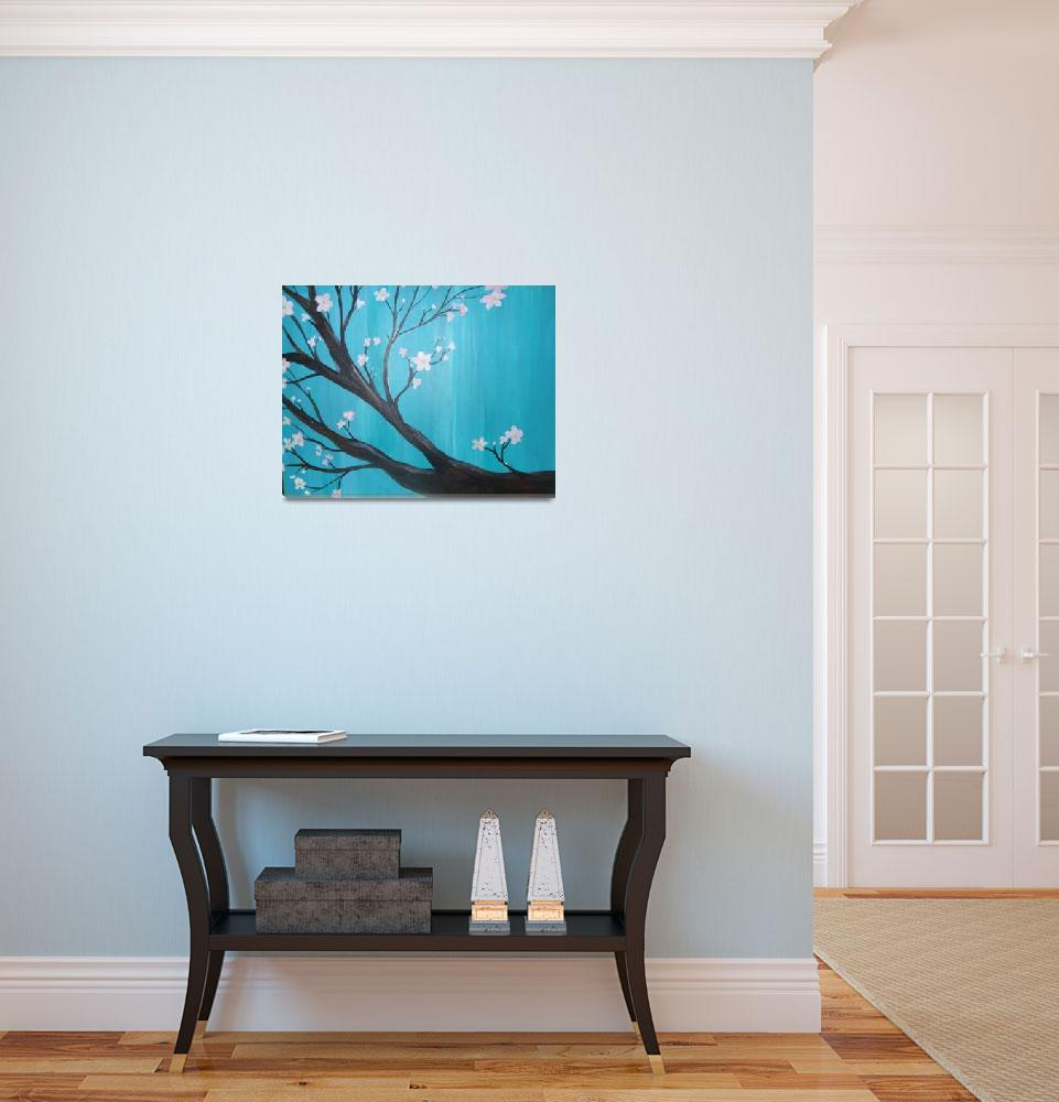 """""""Cherry Blossom&quot  (2010) by ChristyWilcox"""