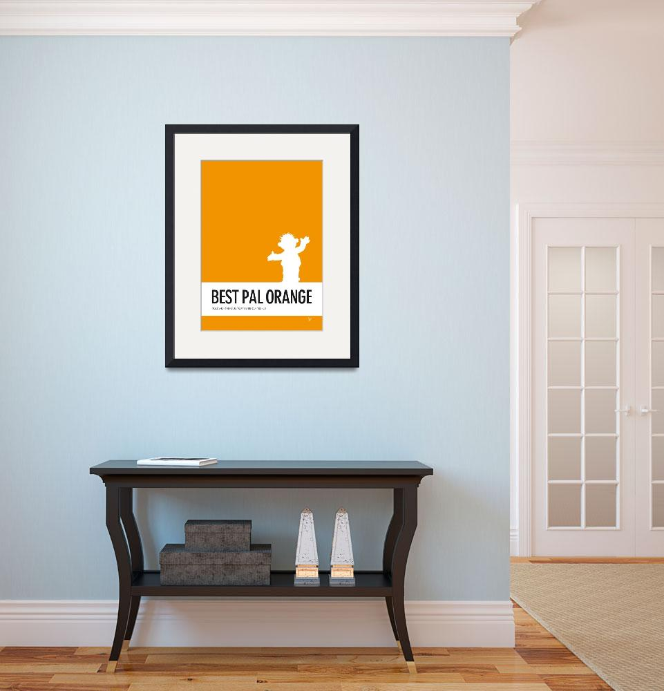 """""""No32 My Minimal Color Code poster Ernie&quot  by Chungkong"""