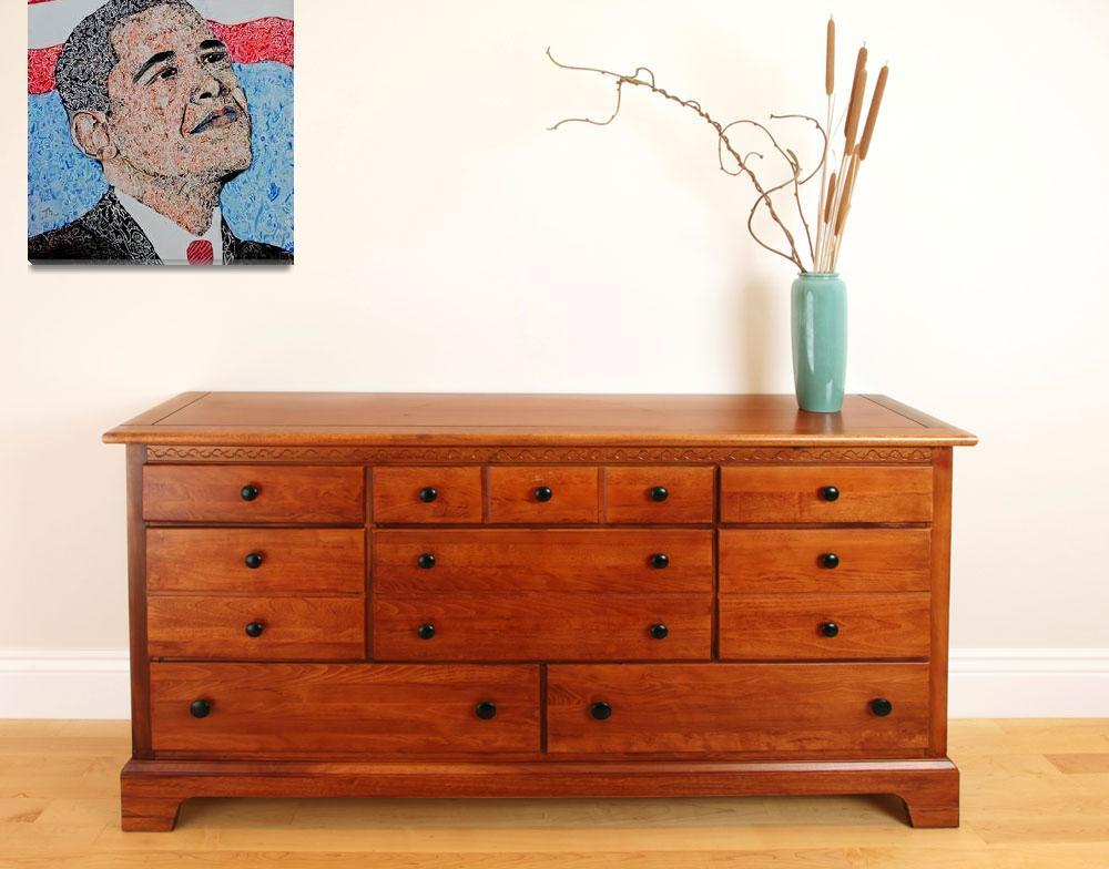 """""""Jill Guntur - Prayer for  Barack Obama""""  (2009) by JillGuntur"""