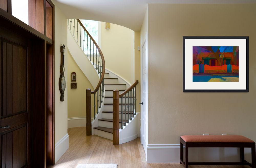 """""""Wagner Casitas - abstract&quot  (2012) by TaosFineArtPhotography"""