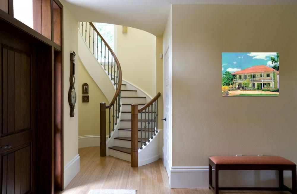 """Old Town San Diego House by RD Riccoboni""  (2005) by RDRiccoboni"