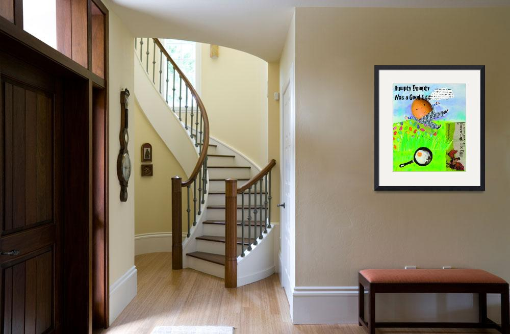 """""""Humpty Dumpty poster&quot  by ShelleyDieterichs"""