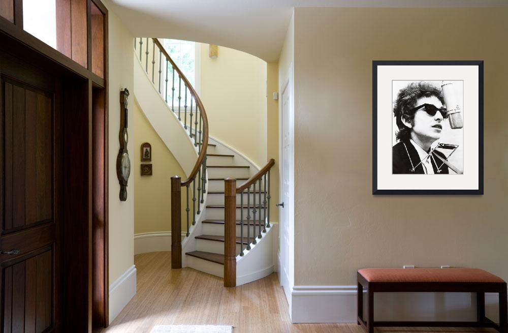 """""""Young Bob Dylan&quot  by RetroImagesArchive"""