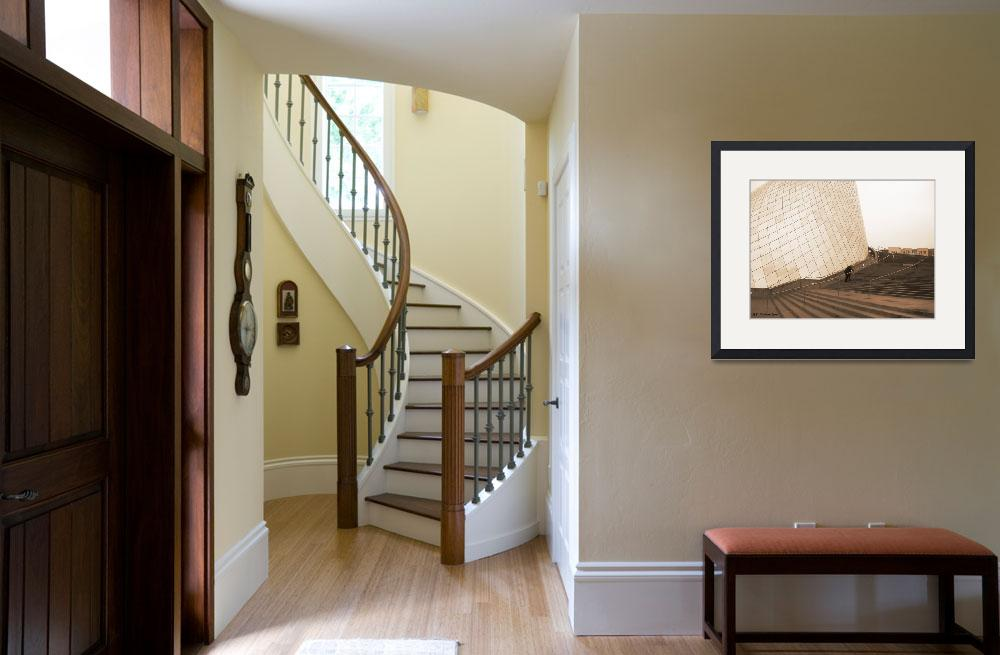 """""""""""ASCENDING STAIRWAY""""&quot  (2006) by MikeRichardson"""
