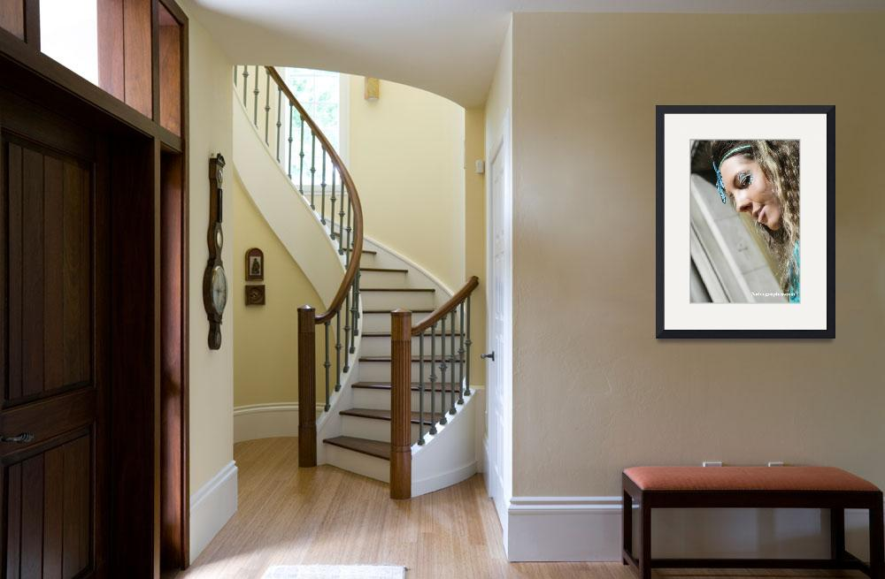 """""""Chantal Closeup Stairs 2 copy&quot  by nateographer"""