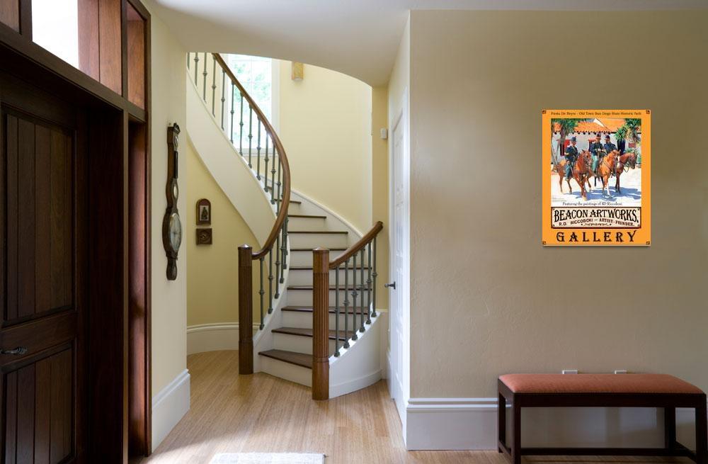 """Beacon Artworks Gallery Riccoboni Poster""  (2008) by RDRiccoboni"
