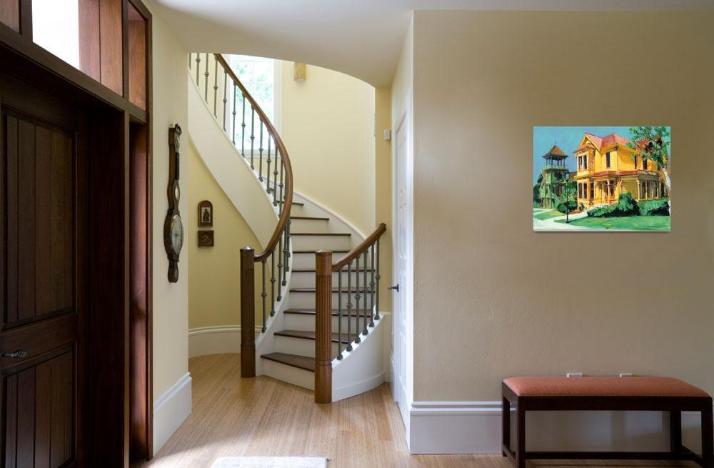 """Victorian Mansions by RD Riccoboni&quot  (2009) by RDRiccoboni"
