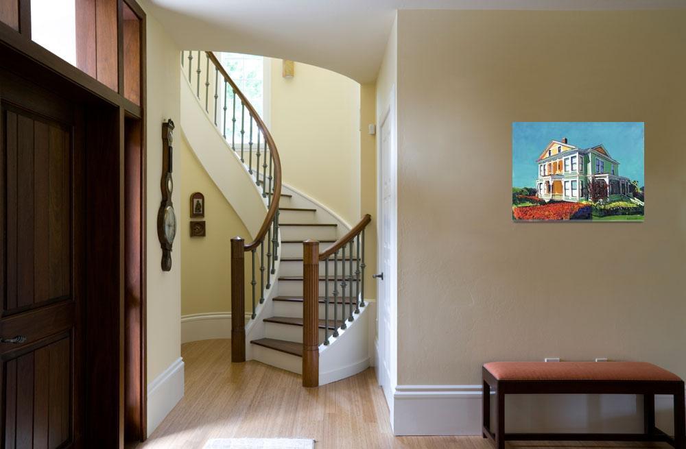 """Henry Guild Burton House by Riccoboni""  (2011) by RDRiccoboni"
