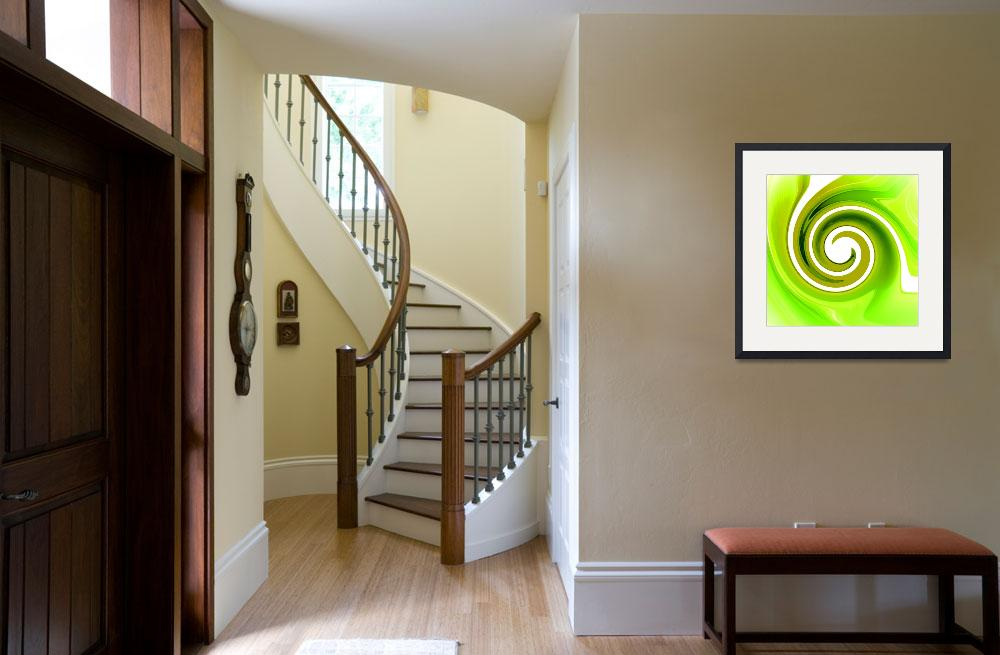 """""""Twisted Lime&quot  (2008) by ArtPrints"""