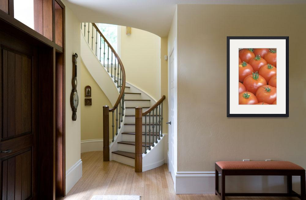 """""""Close up of the many tomatos&quot  (2010) by igorsin"""