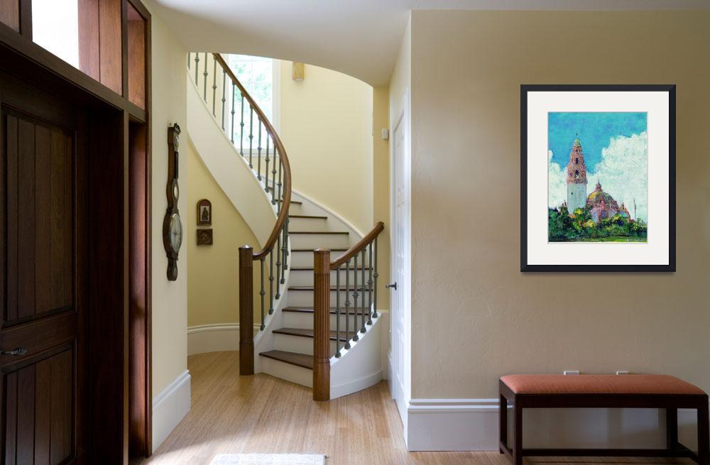 """""""California Tower in Balboa Park - San Diego&quot  (2006) by RDRiccoboni"""