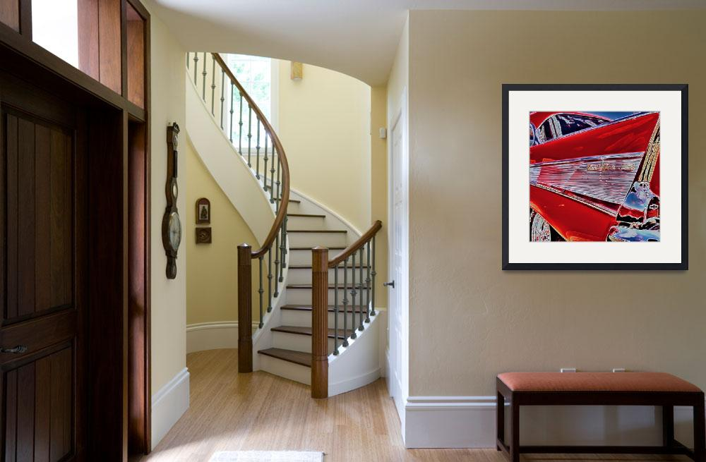 """""""57 CHEVY&quot  by artistMichaelTodd"""