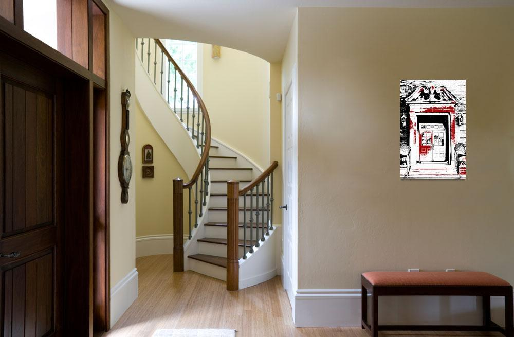 """""""Grand Entrance Black White And Red Series&quot  (2013) by bettynorthcutt"""