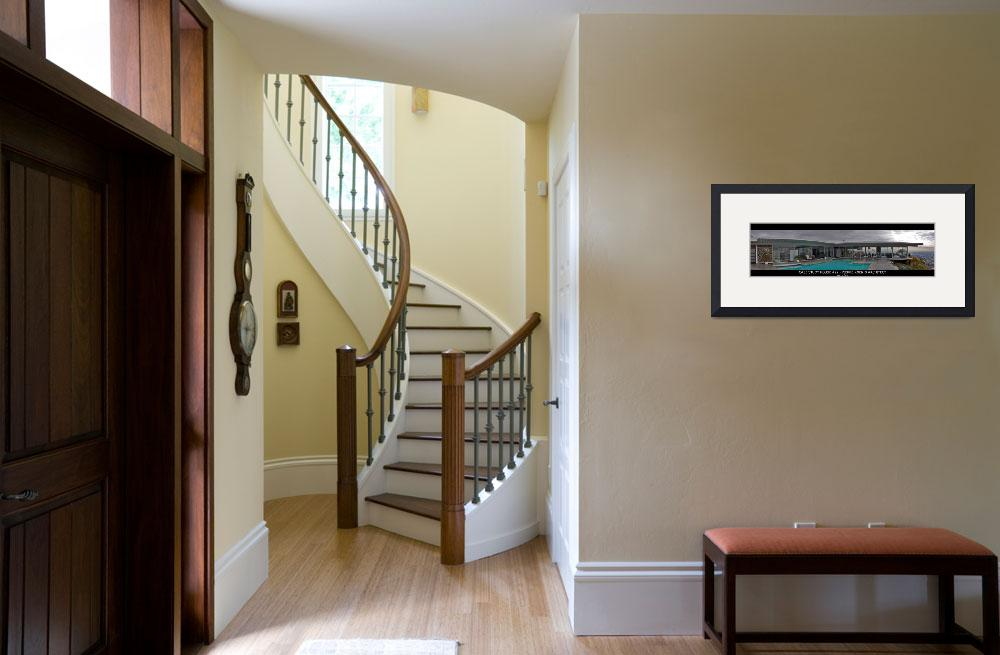 """""""Case Study House #22 Panoramic&quot  (2006) by nuttyirishman"""
