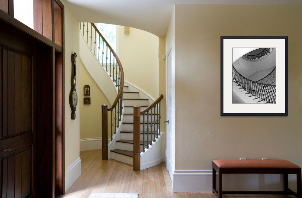 """""""Montmorency Staircase at Winterthur&quot  (2008) by Sharriman"""