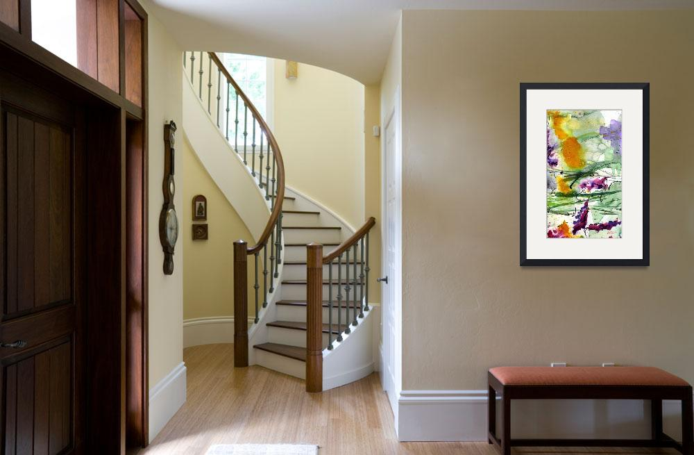 """""""Bumble 2 Abstract Original Art by Ginette&quot  (2010) by GinetteCallaway"""