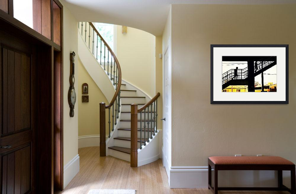 """""""Up the Stairs&quot  by bbluesman"""