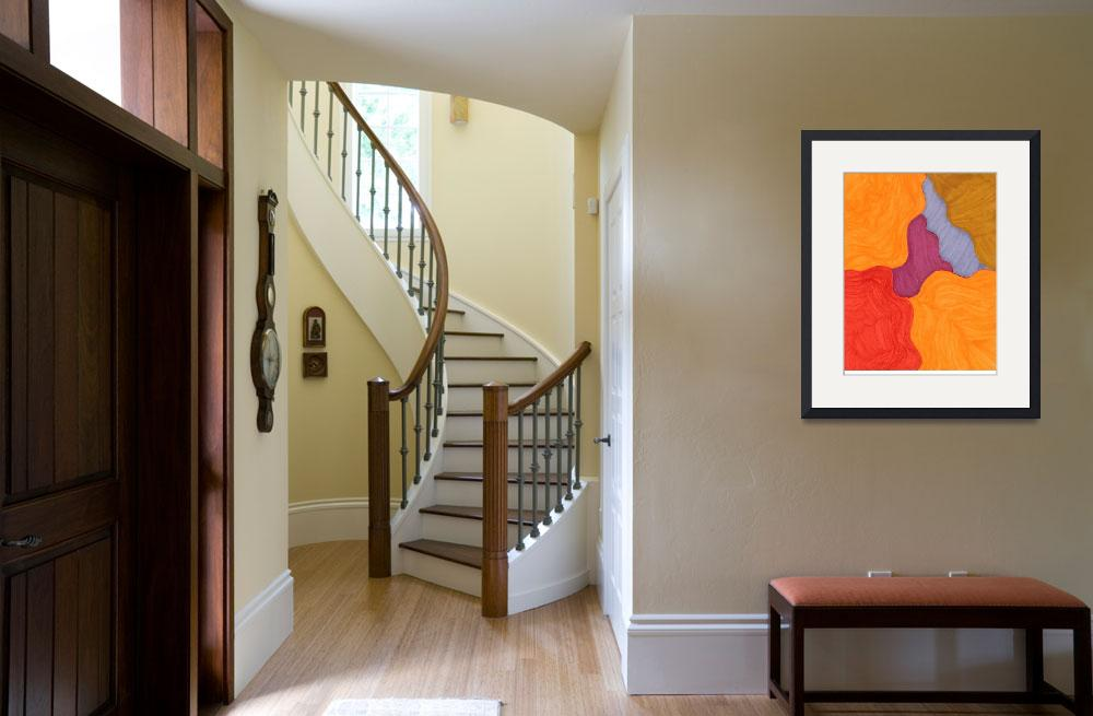 """""""Orange&quot  (2011) by Shirley7"""