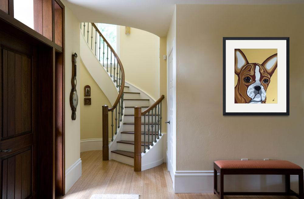 """""""French Bulldog&quot  (2016) by barcat131313"""