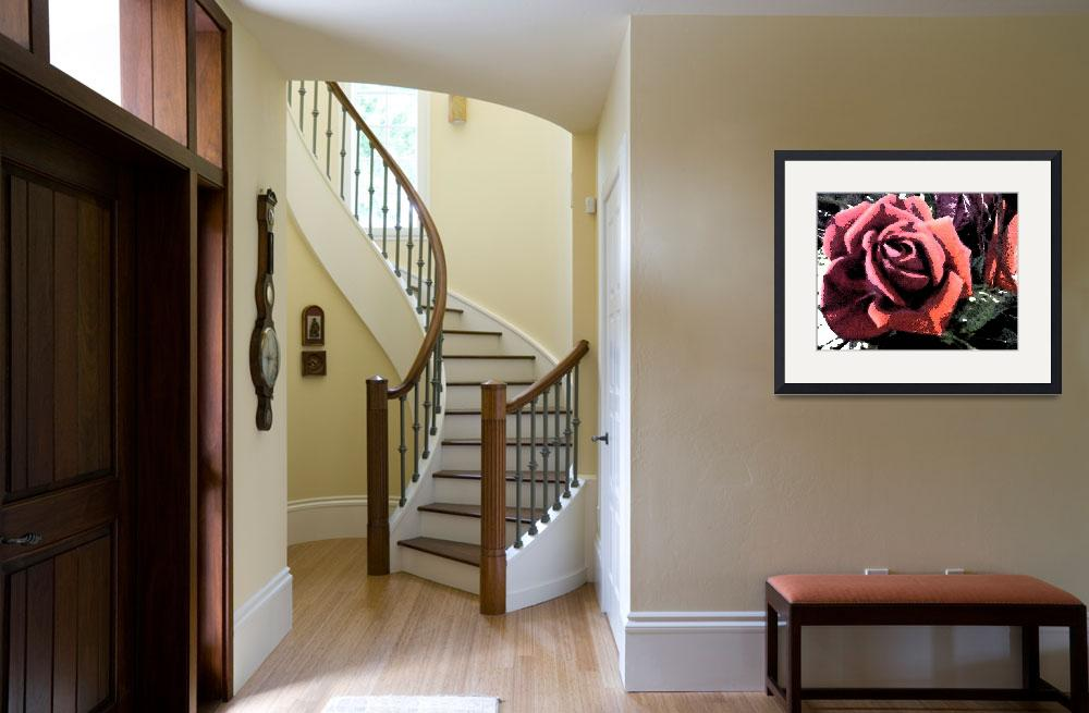 """""""Rose Painting&quot  (2011) by MissDawn"""