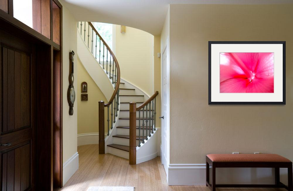 """""""Pink Explosion&quot  (2010) by paulyworksfineart"""
