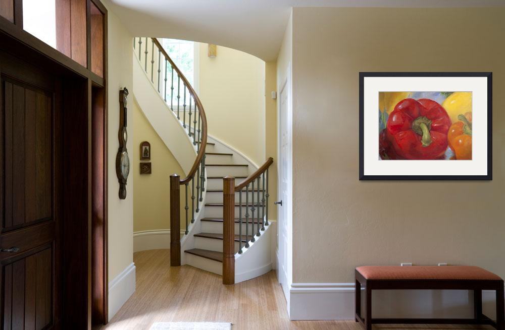 """""""Red Pepper""""  (2011) by tinamalonis"""