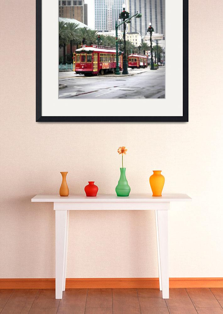 """""""Street Cars in New Orleans&quot  (2009) by aleksasha"""