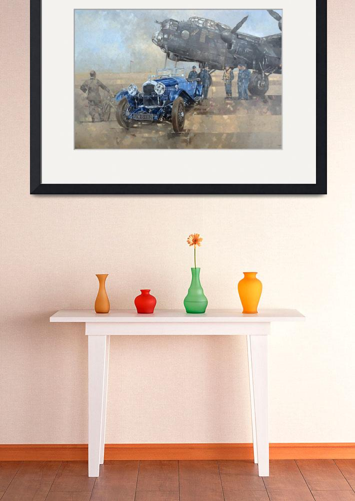 """""""Able Mable and the Blue Lagonda&quot  by fineartmasters"""