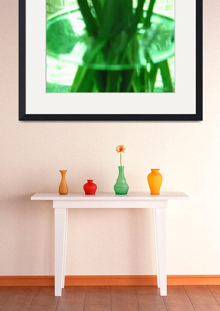 """Green Vase&quot  by alleyesonmelinda"