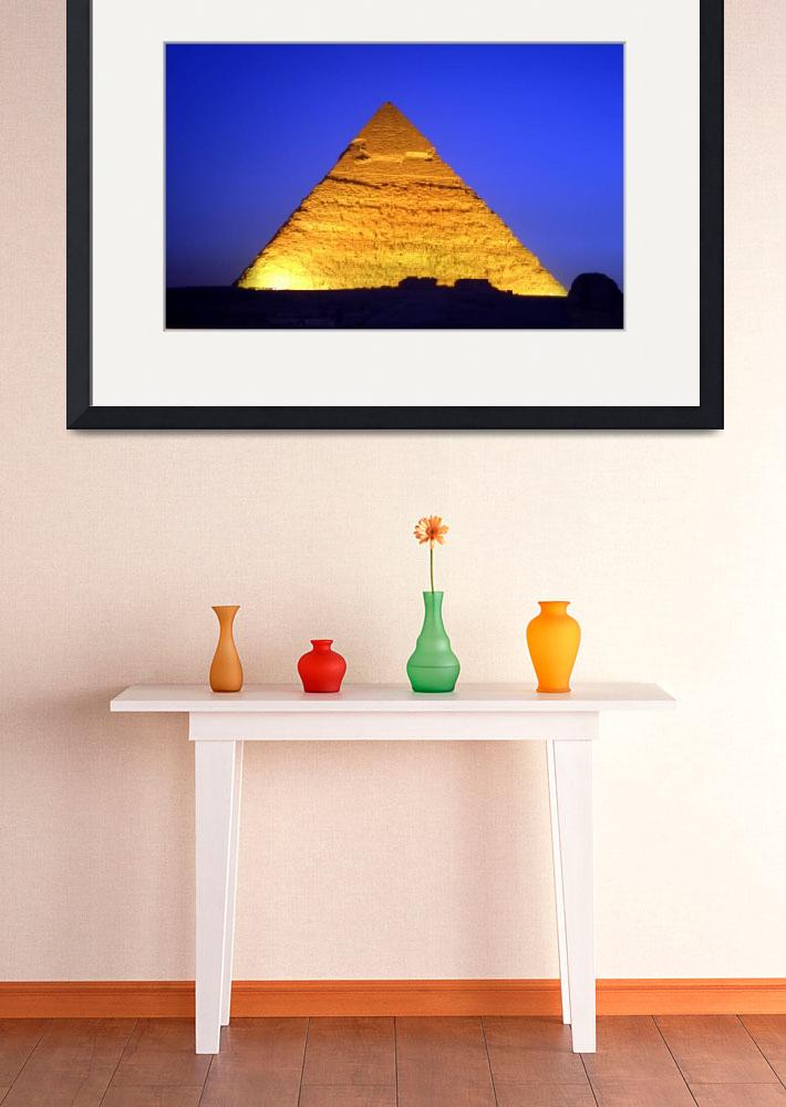 """""""Pyramid at Giza, Egypt [0815]&quot  (2004) by ExclusiveImage"""