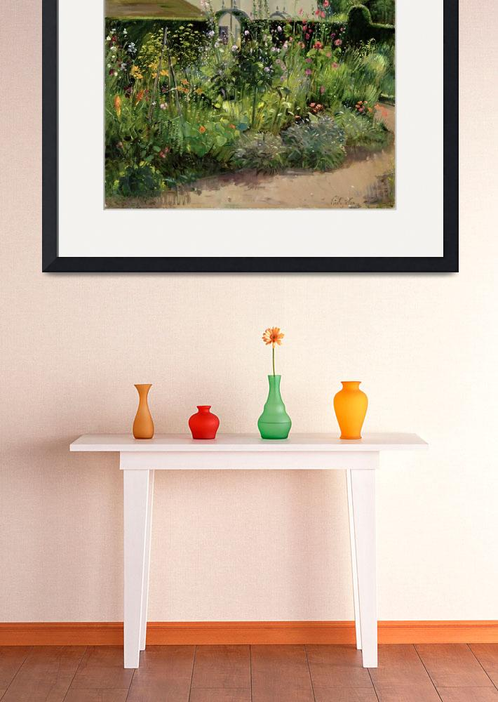 """""""Corner of the Herb Garden""""  by fineartmasters"""