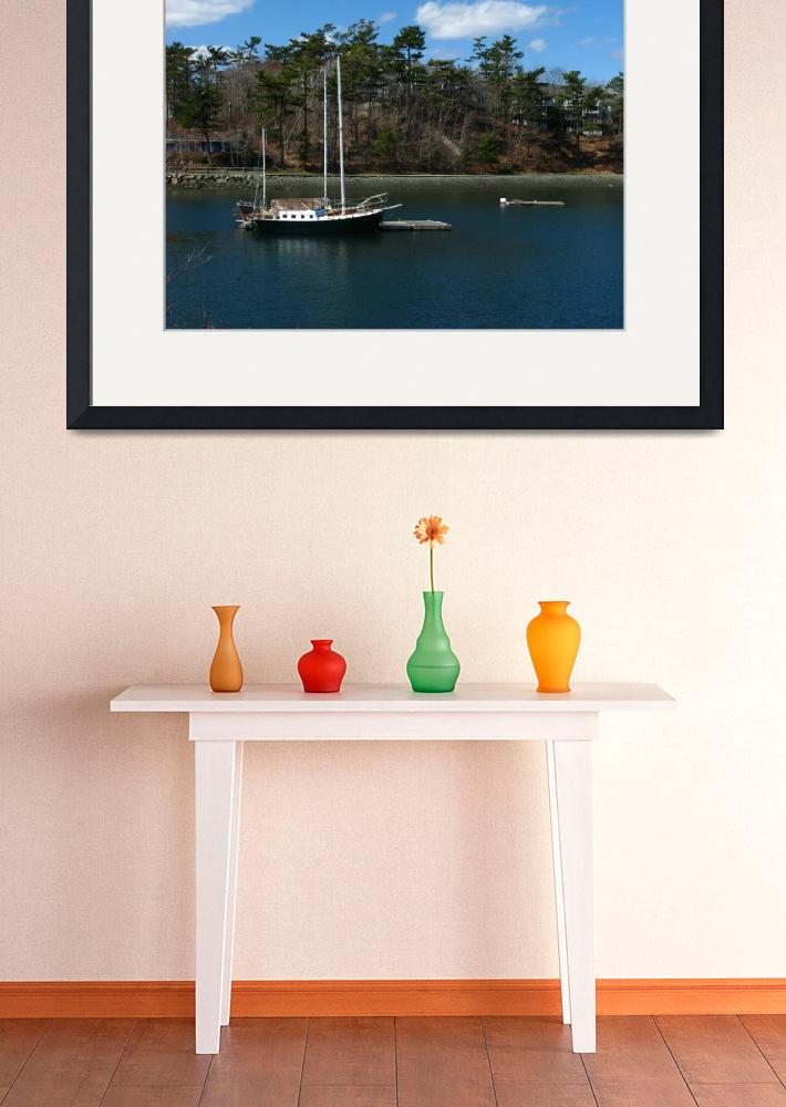 """Sail Boat Halifax _0153&quot  by davies"