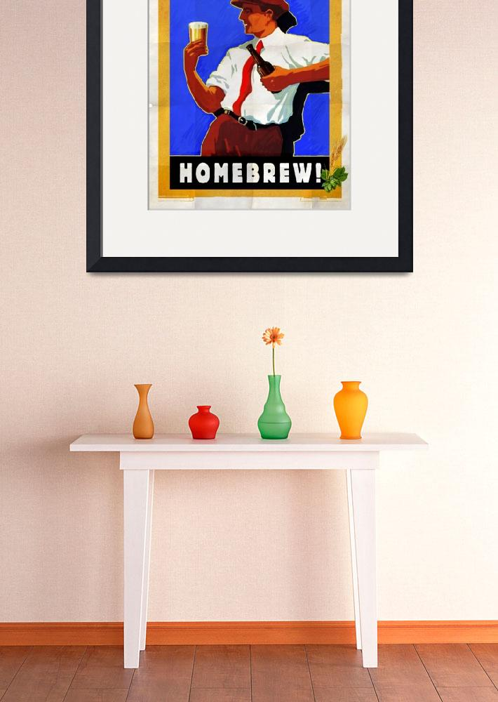 """""""ask me about my homebrew""""  (2010) by rchristophervest"""