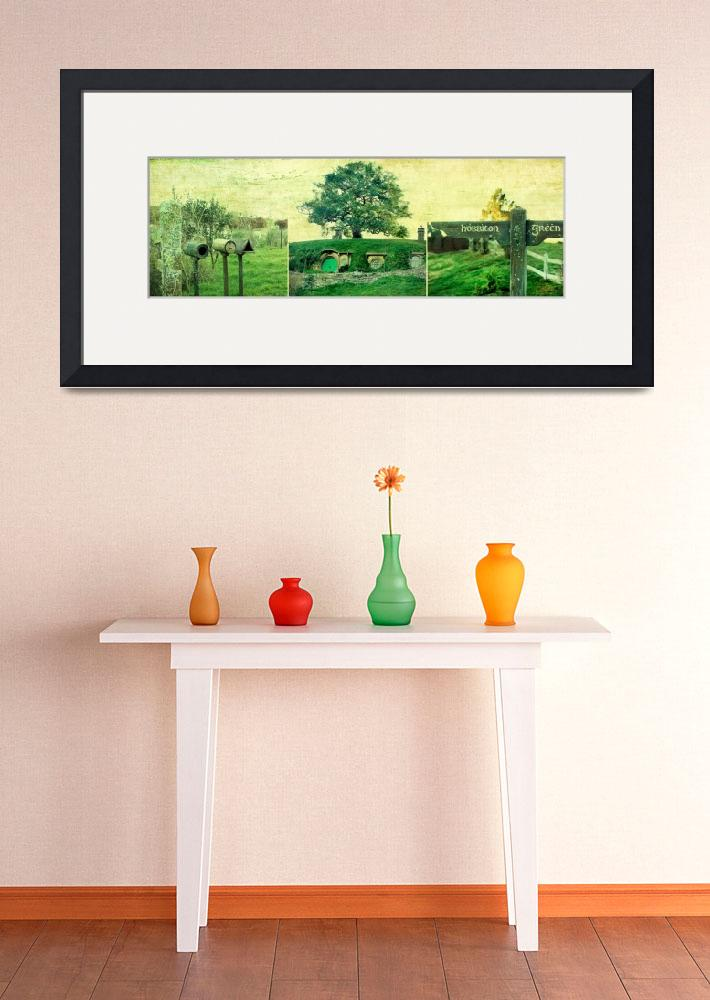 """""""Hobbiton Triptych&quot  (2011) by linde58"""