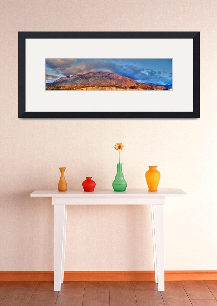 """""""Sandia Mountains HDR&quot  by Diluted"""